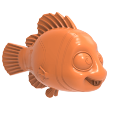 untitled.1613.png Download free STL file Finding Nemo • Template to 3D print, hcchong
