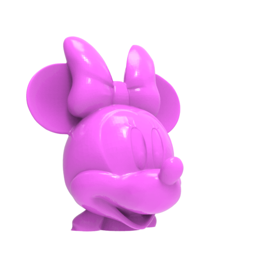 untitled.1643.png Download free STL file Minnie Mouse head • 3D print object, hcchong