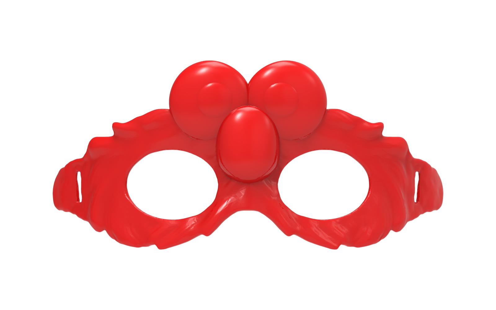 untitled.1656.png Download free STL file Elmo Mask • 3D print design, hcchong