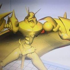 Descargar modelos 3D gratis digimon omnimon, madara
