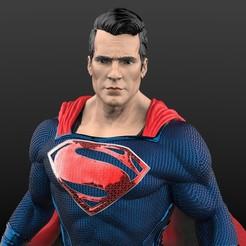 Superman 2.44.jpg Download STL file Superman: Man of steel • 3D print object, eclip-c_rap