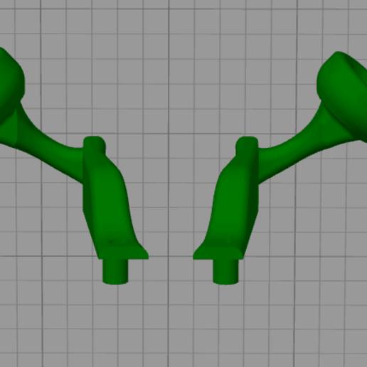 shrek.png Download free STL file Covid-19 headband protector • 3D printing object, amilkarsp