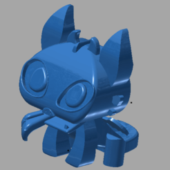 chimuelo.png Download STL file Toothless v2 • 3D print design, amilkarsp