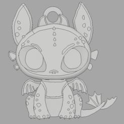 chimuelo llavero.png Descargar archivo STL Chimuelo llavero • Plan para imprimir en 3D, amilkarsp