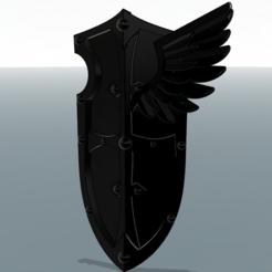 Descargar archivos 3D gratis Escudos de ángeles tristes, paquete 1, void_assault