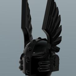 Descargar Modelos 3D para imprimir gratis Cascos de ángeles leales amigos de los ángeles tristes, void_assault