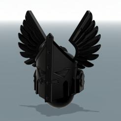 Descargar modelo 3D gratis Ángeles tristes Pretoria Helm, void_assault