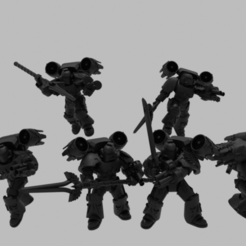 Descargar diseños 3D gratis Arruinadores de la mañana de los ángeles sangrientos, void_assault