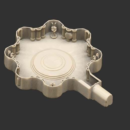 Download free 3D printer designs Castle Royal Bedroom, CharlieVet