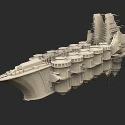 Download free 3D printing files Ship 03 Warhammer 40K, CharlieVet