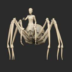 SpiderBoss.jpg Download free STL file Spider Boss • Template to 3D print, CharlieVet