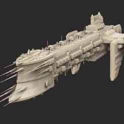 Download free 3D printing designs Ship 04 Warhammer 40K, CharlieVet