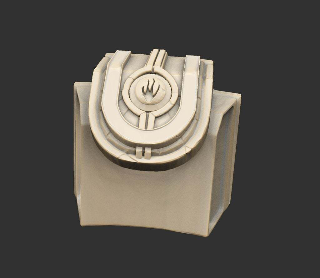 AlienSwitchConsole.jpg Download free STL file Alien Ancient Props Chest Tablet Etc x12 Savage Planet • Model to 3D print, CharlieVet