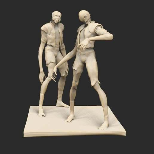 Descargar diseños 3D gratis Cyberpunk Leapers x6, CharlieVet