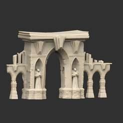 Download free 3D model Grand Gateway, CharlieVet