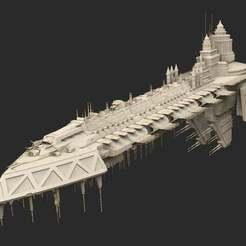 Download free 3D printer templates Ship 02 Warhammer 40K, CharlieVet