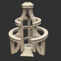 AlienTeleporterStructureB.jpg Télécharger fichier STL gratuit Structure du téléporteur extraterrestre Savage Planet • Modèle imprimable en 3D, CharlieVet