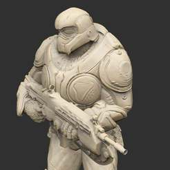 OnyxGuardLook03.jpg Download free STL file Onyx Guard • 3D printer model, CharlieVet