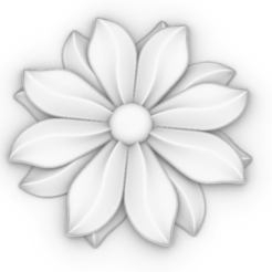 Download free STL file Flower 3D stl • 3D print design, mk022dmg