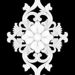 Télécharger fichier STL gratuit Fleur 3D stl, mk022dmg