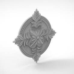 Download free STL file Rossete 3D STL CNC Relief • 3D printing model, mk022dmg