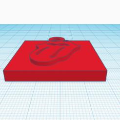 Descargar modelos 3D para imprimir Llavero Los Rolling Stones, delgadofiguerasdavid