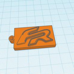 Descargar archivo 3D Llavero FR, delgadofiguerasdavid