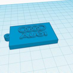 Descargar modelo 3D Llavero AUDI, delgadofiguerasdavid