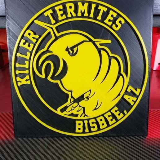 Télécharger fichier 3D gratuit Logo des termites du tueur de Doug Stanhope, news6