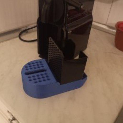 Download free STL file Nespersso drip basin • 3D printing model, Shie
