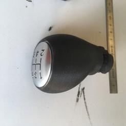 Download 3D printer files Citroën gear knob, Olivier07