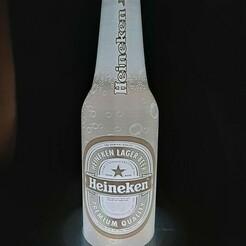 140895071_152574099835060_4532751050551008721_n.jpg Download STL file Lithophanie Heineken beer bottle • 3D printable design, Fr3D