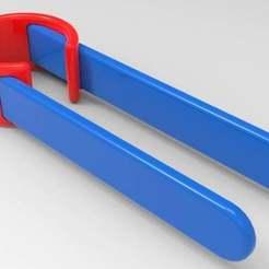 untitled.272.jpg Download free OBJ file tongs • 3D print object, veganagev
