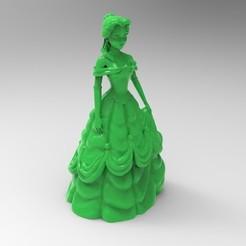 Download free OBJ file belle • 3D printer object, veganagev