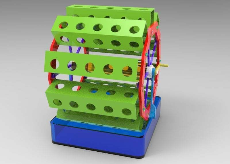 untitled.174.jpg Télécharger fichier OBJ gratuit jardin rotatif 3 • Design pour impression 3D, veganagev