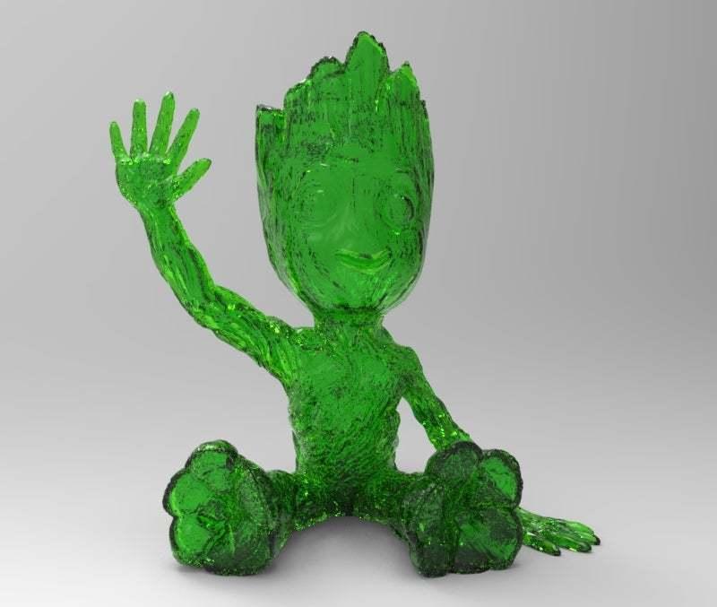 untitled.302.jpg Télécharger fichier STL gratuit baby groot led light v4 • Modèle pour impression 3D, veganagev