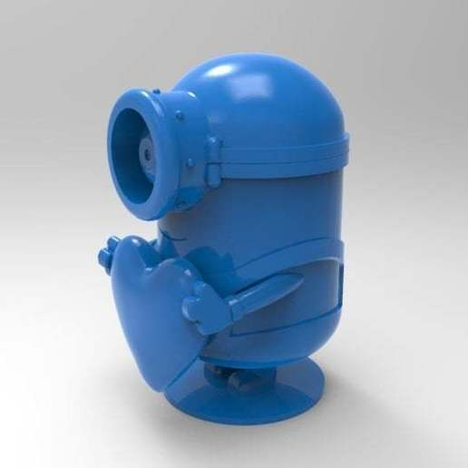 untitled.583.jpg Download free STL file minion heart • Template to 3D print, veganagev