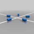 lazy_sue_rollers.png Télécharger fichier STL gratuit simple lazy susan • Design pour impression 3D, veganagev
