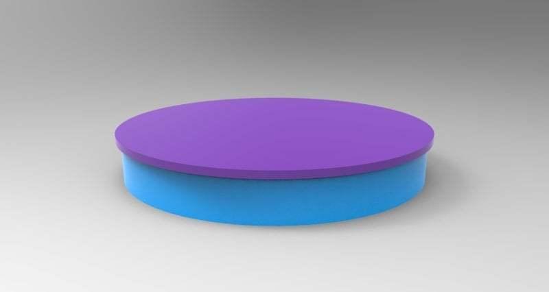 untitled.213.jpg Télécharger fichier STL gratuit simple lazy susan • Design pour impression 3D, veganagev