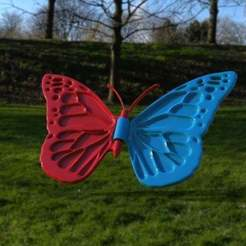 untitled.647.jpg Download free OBJ file butterfly remix • Template to 3D print, veganagev