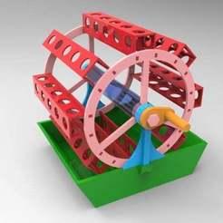 untitled.675.jpg Download free OBJ file rotary garden 2 • 3D printing template, veganagev