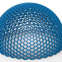 untitled.101.jpg Download free STL file hex dome • 3D printable object, veganagev