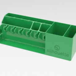 Download free STL file silhouette-cricut tool holder • 3D printing object, veganagev