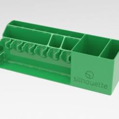 sil_hold.png Télécharger fichier STL gratuit porte-outil silhouette-cricature • Plan pour imprimante 3D, veganagev