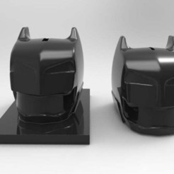 Download free OBJ file 2 bat-helm banks • Object to 3D print, veganagev