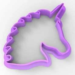 untitled.125.jpg Download free STL file unicorn cookie cutter • 3D printing design, veganagev