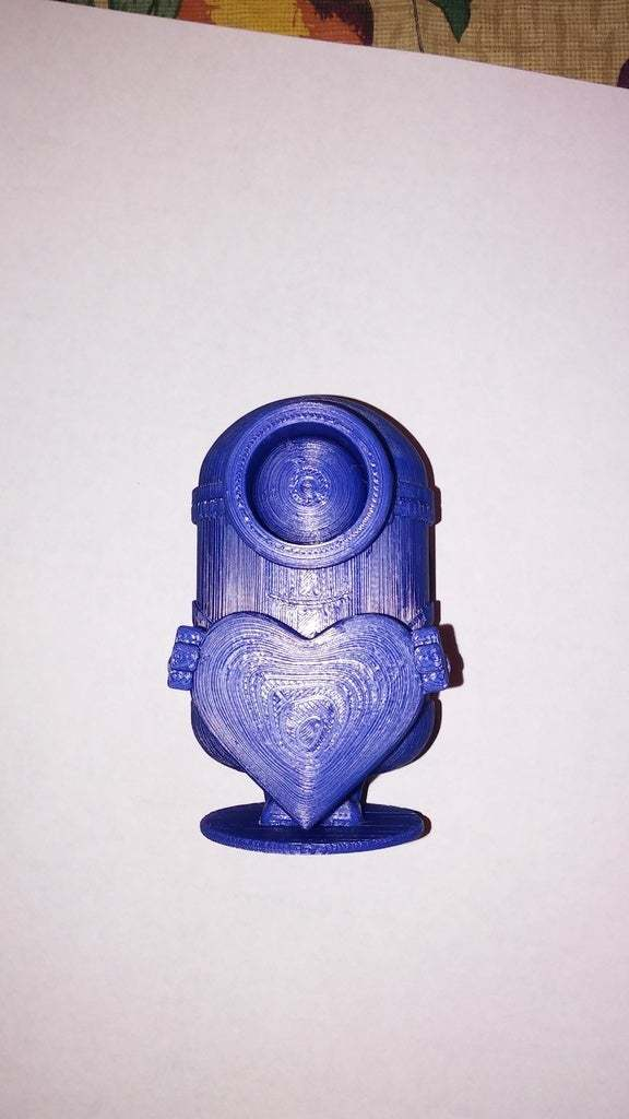 20170705_181315.jpg Download free STL file minion heart • Template to 3D print, veganagev