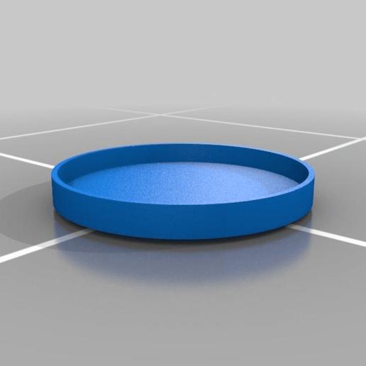 lazy_sue_top2.png Télécharger fichier STL gratuit simple lazy susan • Design pour impression 3D, veganagev