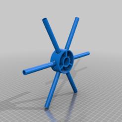 zip_tie_hub_v20.png Télécharger fichier STL gratuit dôme à fermeture éclair • Design imprimable en 3D, veganagev