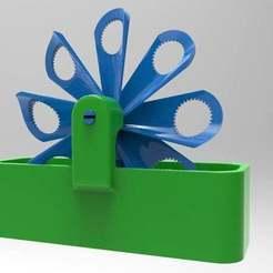 Download free OBJ file bike wind bubbler 4.2 • 3D printable model, veganagev